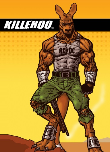 KILLEROO NOW AVAILABLE AT DEE'S COMICS