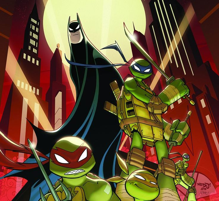 BATMAN TMNT ADVENTURES 1