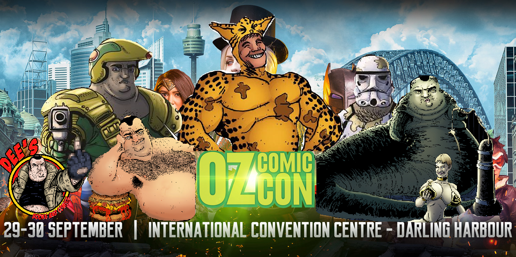 DEE'S COMICS PRESENTS THE JOB DUN FUNHOUSE AT OZ COMIC CON!