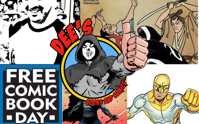 Free Comic Book Day at Dee's just gets bigger and better!