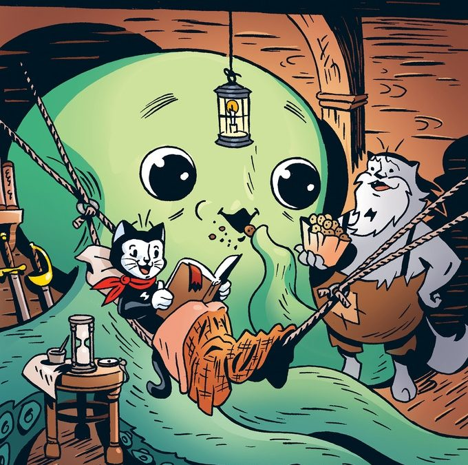 The Adventures of Jack Scratch: Curse of the Kraken Hits Shelves