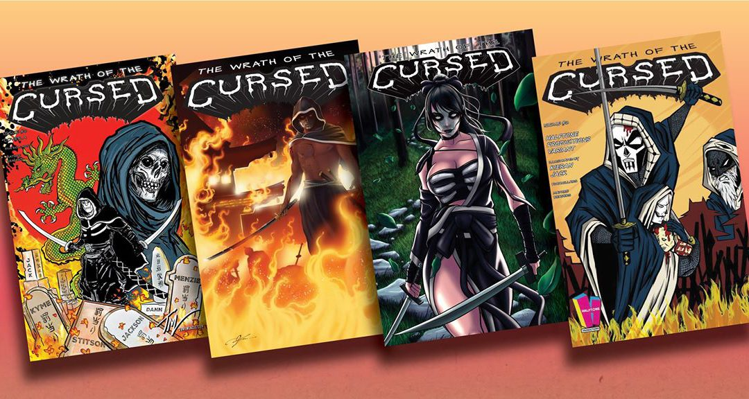 WRATH OF THE CURSED #3 BUNDLE ALL 4 COVERS/VARIANTS