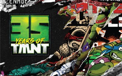 We Celebrate 35 Years of TMNT and Countdown to Issue #100!